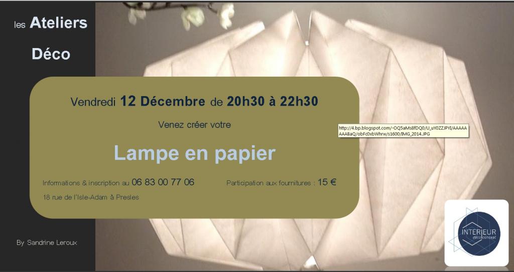 Atelier Déco du 12.12.14